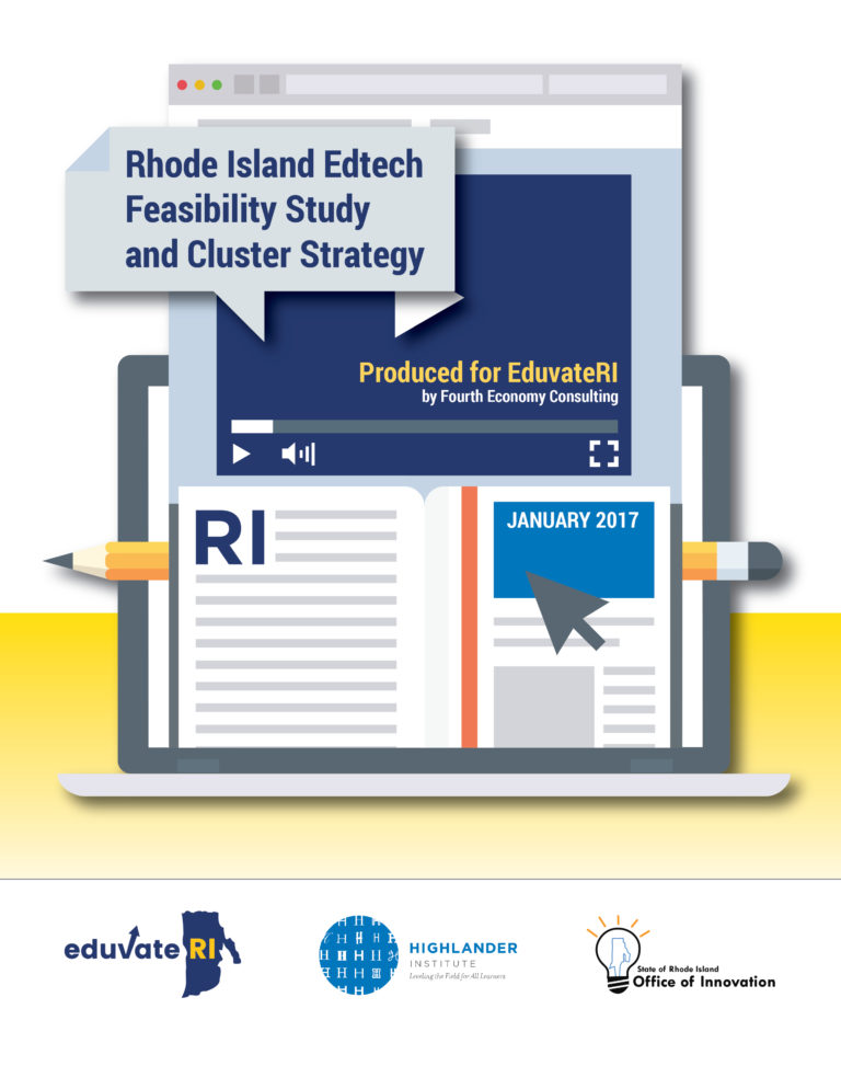 Rhode Island Edtech Feasibility Study and Cluster Strategy